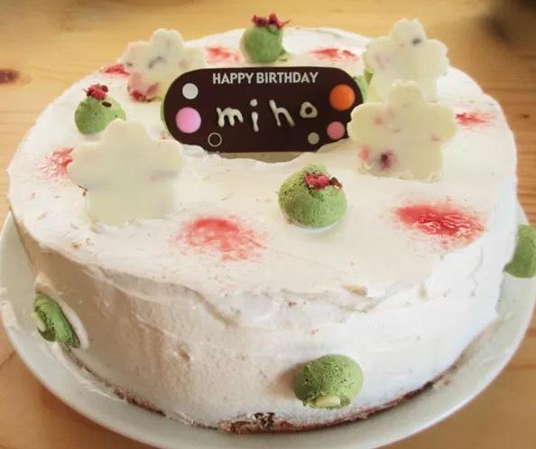 ふうか誕生日ケーキ