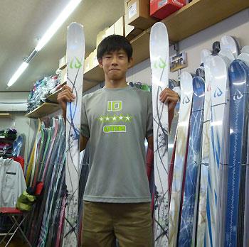 堀島選手15歳