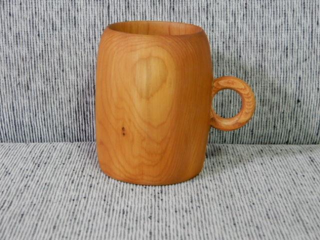 イチイの木マグカップ
