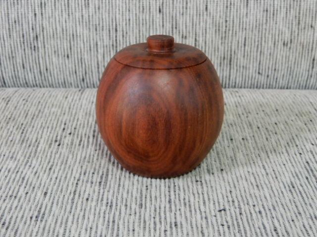 ローズウッド茶筒