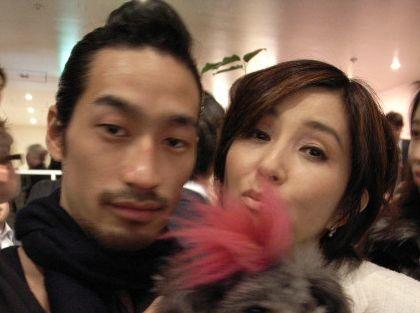秋吉久美子と息子