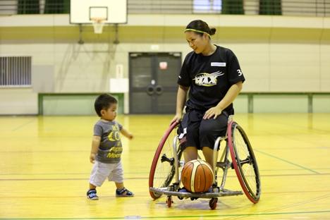 藤井郁美車椅子バスケの旦那や子供は?出会いや馴れ初めもチェック