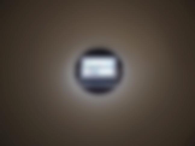 松田さんの視界のイメージ