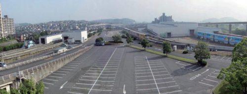 企救丘(きくがおか)臨時駐車場