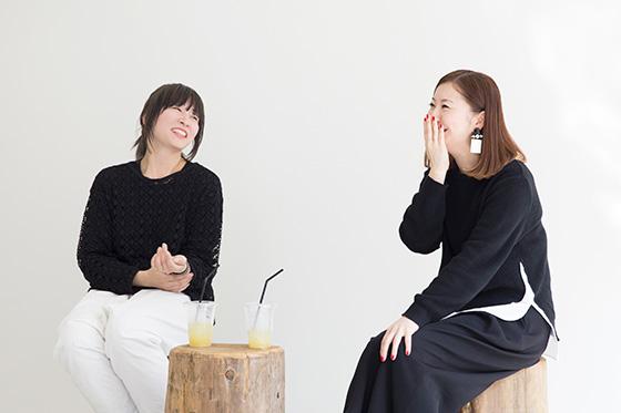 篠崎恵美&吉田ユニ対談01