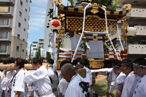 平松御神輿祭