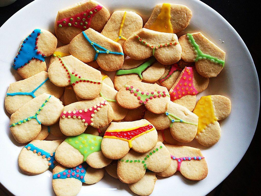 お尻クッキー
