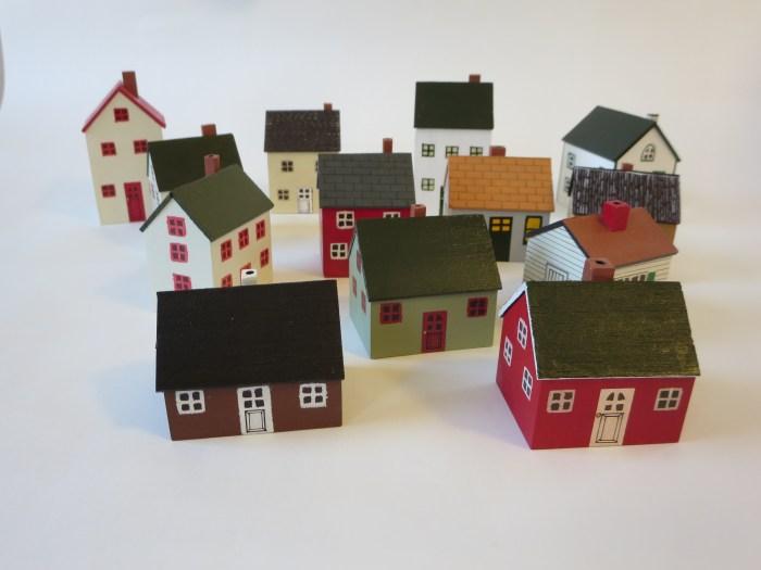 木製ミニチュアハウス