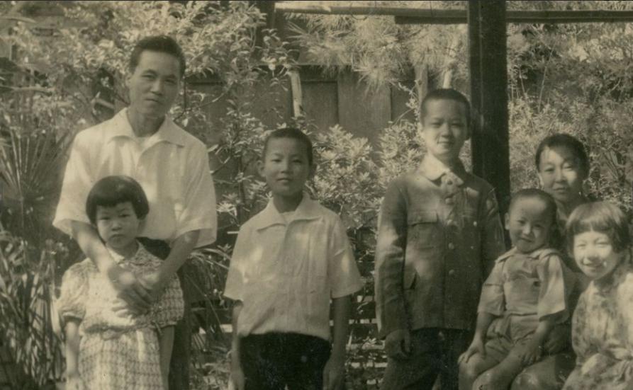 勝矢さん家族