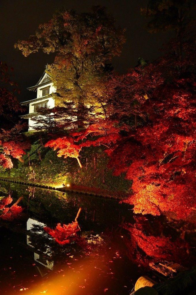 弘前城紅葉
