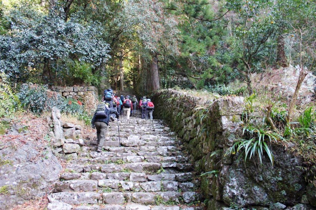 鳳来寺山 石段