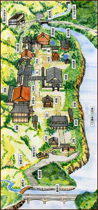 永源寺 境内マップ
