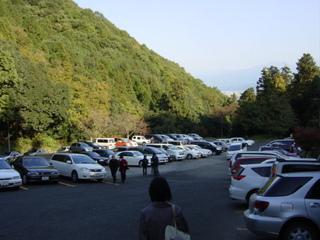西山興隆寺駐車場
