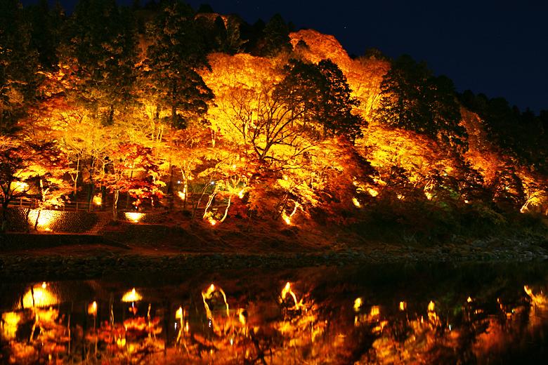 2香嵐渓 ライト