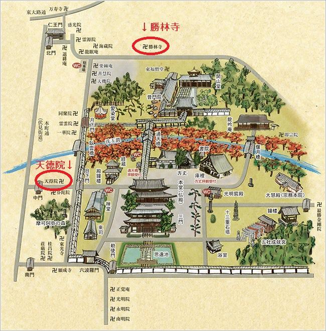 東福寺マップ