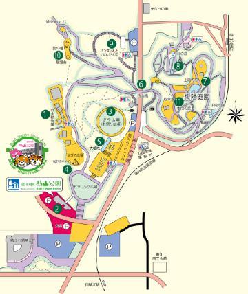 西山公園 マップ