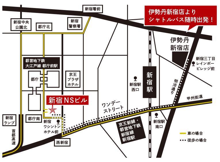 サロンデュショコラ東京会場map