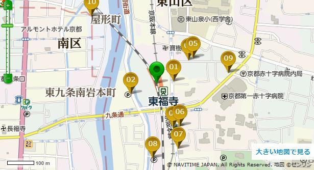 勝林寺ナビタイム地図