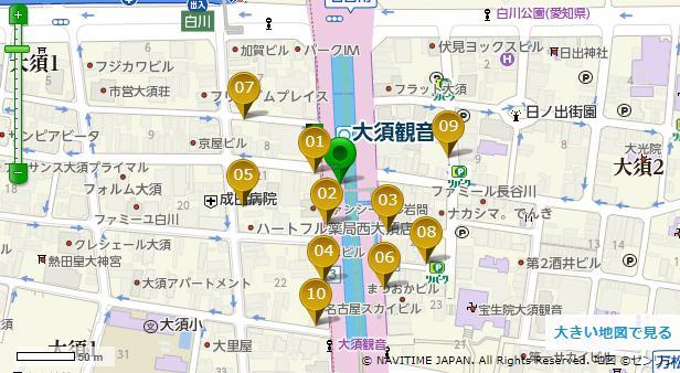 大須観音駐車場
