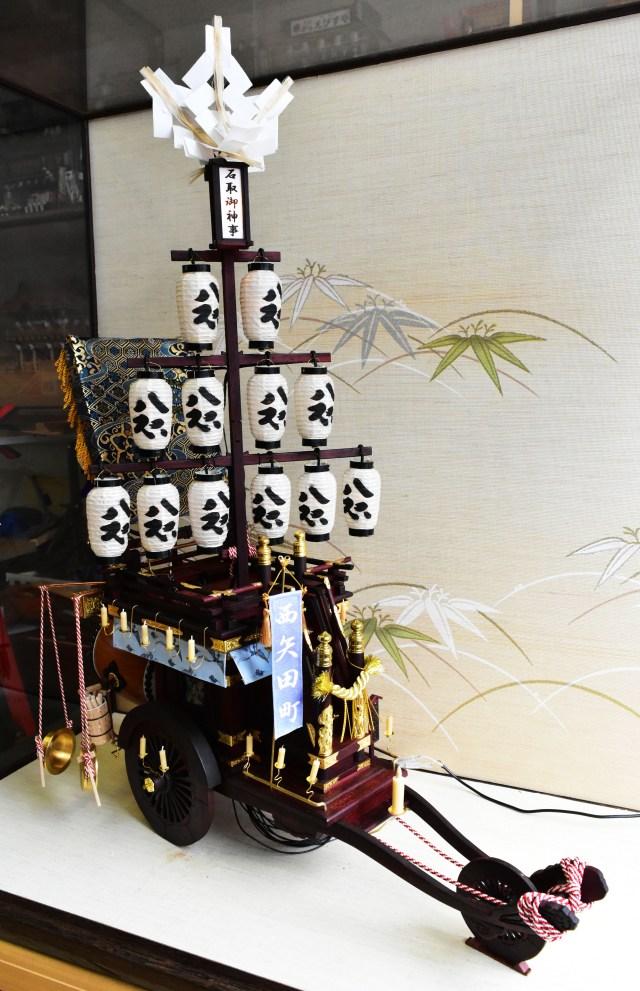「石取祭 祭車ミニチュア工房」の画像検索結果