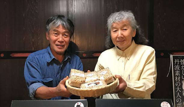丹波ポン菓子岡田さん夫妻